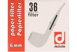 Denicotea pipafilter 6mm